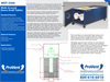 Intercept - WDT - Walk Around Ventilated Down Draft Work Benches – Brochure