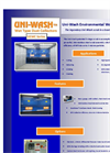 Uni-Wash - Model UEWC - Wet Booth Dust Collectors- Brochure