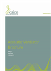 Caice - Acoustic Window Ventilators -  Brochure