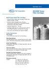 Encore® Series Filter Cartridges Brochure (PDF 91 KB)