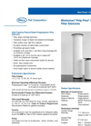 Marksman™ Poly-Fine® XLD Series Filter Elements Brochure (PDF 57 KB)