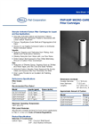 PHP/AHP Micro-Carbon II Series Filter Cartridges Brochure (PDF 70 KB)