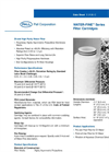 Water-Fine™ Series Filter Cartridges Brochure (PDF 118 KB)