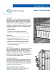 Septra™ CB Plus Filtration Systems Brochure (PDF 89 KB)