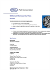DM Metricel® Membrane Disc Filters Brochure (PDF 188 KB)
