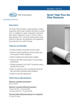 Nexis - High Flow Series Filter Elements Brochure