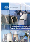 Pall Corporation: Contamination Control for the Power Generation Industry (PDF 1.87 MB)