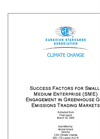 Success Factors for Small-Medium Enterprise (SME) Engagement in Greenhouse Gas Emissions Trading Markets (PDF 1.012 MB)