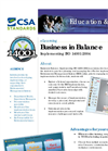 Business in Balance: Implementing ISO 14001 Brochure