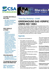 Greenhouse Gas Verification Using ISO 14064 Brochure