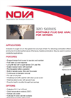 Portable Flue Gas Analyzer for Oxygen 320 Series- Brochure