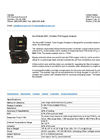 Portable PPM Oxygen Analyzer 325K Series- Brochure