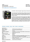 Portable Paramagnetic Oxygen Analyzer 322BT- Series