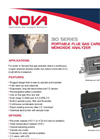 Portable Flue Gas Analyzer for Carbon Monoxide 310 Series- Brochure