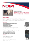 Portable Flue Gas Analyzer for Oxygen and Carbon Monoxide 360 Series- Brochure