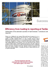 Efficiency from loading to reporting at TanQuid - Case Study