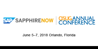 SAPPHIRE NOW and ASUG Annual Conference