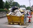 Environmental performance of construction and demolition waste management