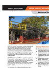 Membrane Recovery Unit Brochure