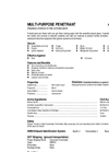 Total Solution - Model AL-8101 - Multi Purpose Penetrant Aerosol Spray - 12 Cans/Case - Spec. Sheet
