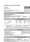 Total Solution - Model AL-8103 - Aerosol Cutting & Tapping Fluid Spray - MSDS