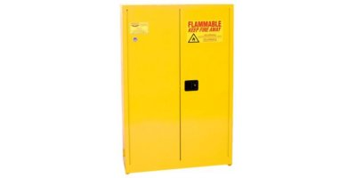 Eagle - Model YPI-7710 - Paint & Ink Safety Cabinet, 30 Gal. Yellow, Two Door, Self Close