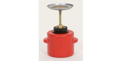 EAGLE - Model P-711 - Plunger Can 1 Qt. Poly - Red