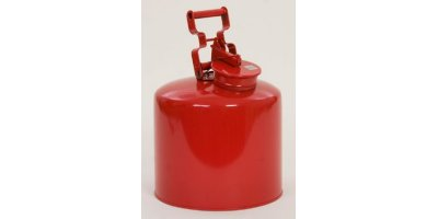 EAGLE - Model 1425 - Disposal Can, 5 Gal. Galvanized Steel - Red