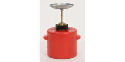EAGLE - Model P-712 - Plunger Can 2 Qt. Poly - Red