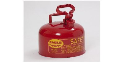 EAGLE - Model Type I UI-20-S - Safety Can, 2 Gal. Red