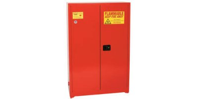 Eagle - Model PI-7710 - Paint & Ink Safety Cabinet, 30 Gal. Red, Two Door, Self Close