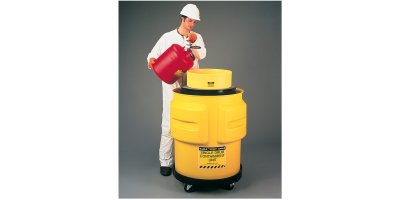 EAGLE - Model 1612 - Single Drum Containment Unit - Yellow