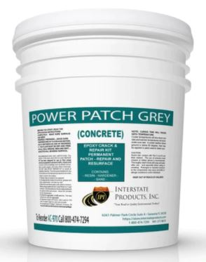 Concrete Repair - Epoxy or Polyester Patch