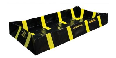 Justrite QuickBerm - Model JR-28536 - Spill Containment Berm with Inside Wall Supports - 4` x 8` x 12`