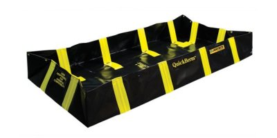 Justrite QuickBerm - Model JR-28538 - Spill Containment Berm with Inside Wall Supports - 6` x 8` x 12`