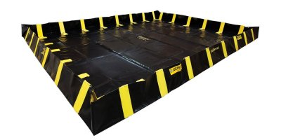 Justrite QuickBerm - Model JR-28548 - Spill Containment Berm with Inside Wall Supports - 12` x 20` x 12`