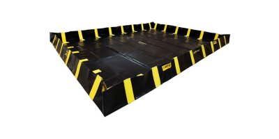 Justrite QuickBerm - Model JR-28552 - Spill Containment Berm with Inside Wall Supports - 16` x 20` x 12`