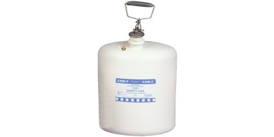 EAGLE - Model Type I 1541 - Poly Safety Can, 5 Gal. White