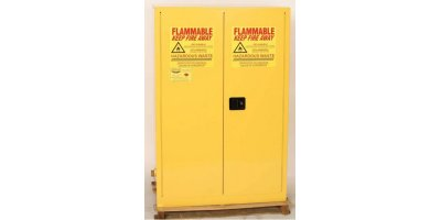 EAGLE - Model HAZ1992 - HAZ-MAT Safety Cabinet, 60 Gal. Yellow, Two Door, Manual Close