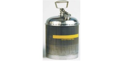 EAGLE - Model Type I 1315 - Stainless Steel Safety Can, 5 Gal.