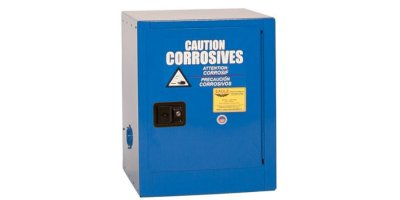 Eagle - Model CRA-1903 - Metal Acid & Corrosive Safety Cabinet, 4 Gal. Blue, One Door, Self Close