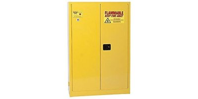 EAGLE - Model YPI-4510 - Paint & Ink Safety Cabinet, 60 Gal. Yellow, Two Door, Self Close