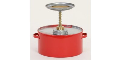 EAGLE - Model P-702 - Plunger Can 2 Qt. Metal - Red