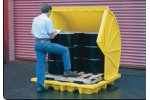 Justrite - Flammable Drum Storage Cabinets