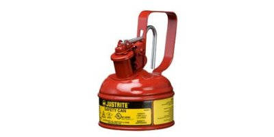 JUSTRITE - Model 10011 - Type I Steel Safety Can With Trigger Handle for Flammables, 1 Pint