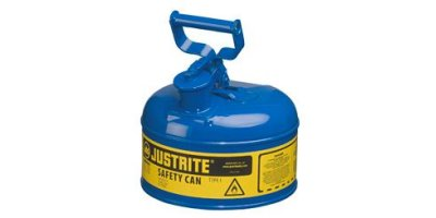 JUSTRITE - Model 7110300 - Type I Steel Safety Can for Flammables 1 Gallon (Blue)