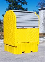 UltraTech - Model 1162 - IBC HardTop Containment System - No Drain