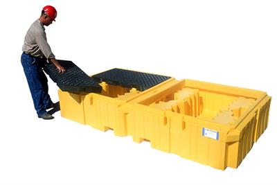 UltraTech - Model 1140 - Twin IBC Spill Pallet - No Drain