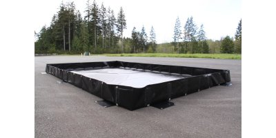Spill Containment L-Bracket Berm - 10` x 20` x 18