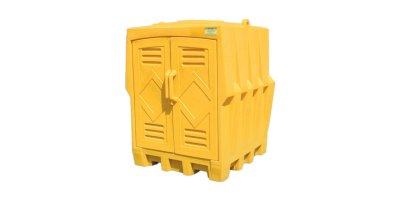 Eagle Claw - Model 1649 - Outdoor Storage Building Poly 4 Drum
